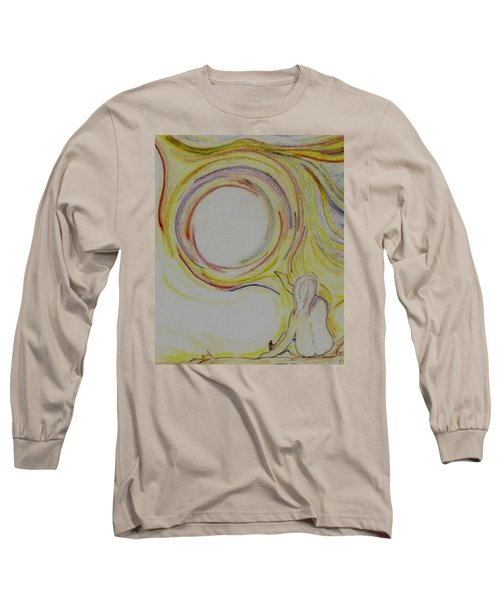 Girl And Universe Creative Connection Long Sleeve T-Shirt