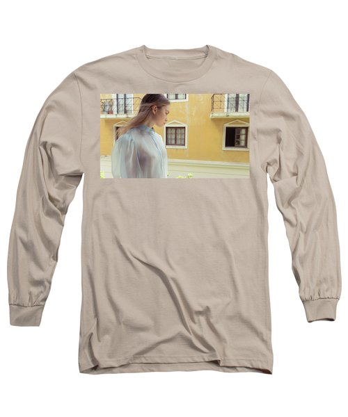 Girl In Profile Long Sleeve T-Shirt
