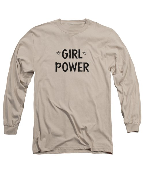 Girl Power- Design By Linda Woods Long Sleeve T-Shirt