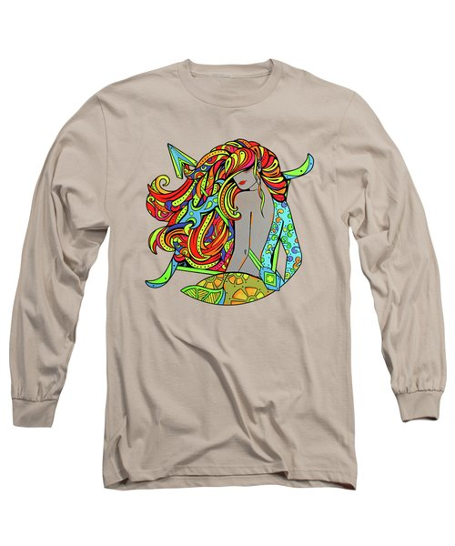 Girl Sagittarius Zodiac Long Sleeve T-Shirt