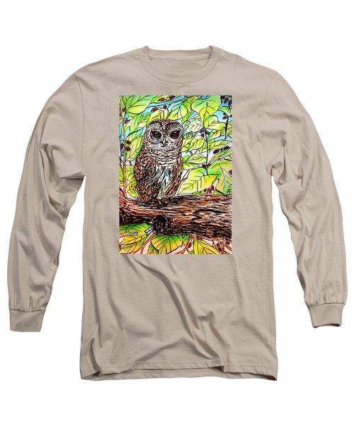 Give A Hoot Long Sleeve T-Shirt