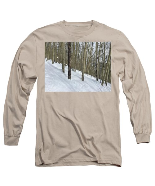 Gladed Run Long Sleeve T-Shirt by Christin Brodie