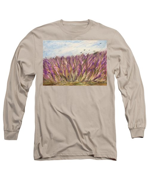 Gladiolus Field Long Sleeve T-Shirt