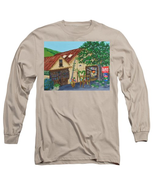 Glass Blower Shop Harmony California Long Sleeve T-Shirt