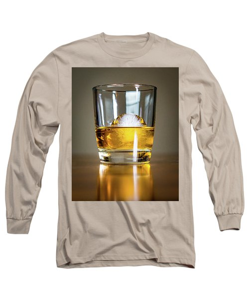 Glass Of Whisky Long Sleeve T-Shirt