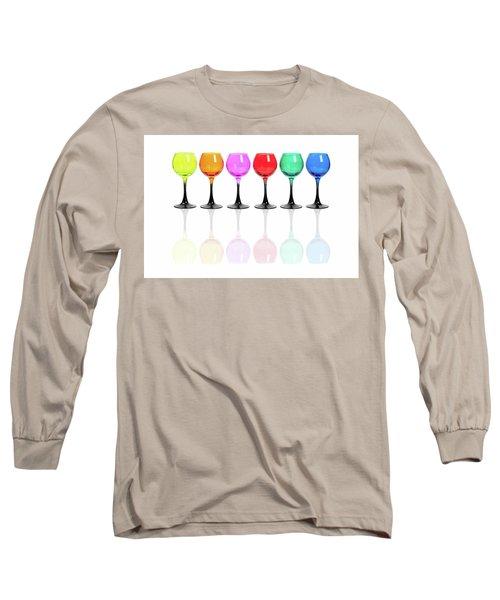 Glasses #2085 Long Sleeve T-Shirt