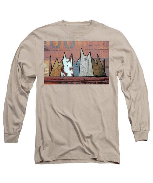 Glee Club Long Sleeve T-Shirt by Joan Ladendorf