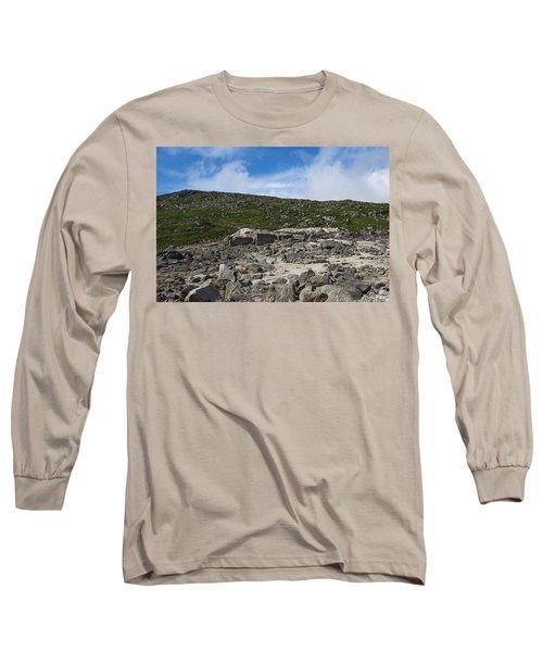 Glendasan Abandoned Mining Site Village Long Sleeve T-Shirt