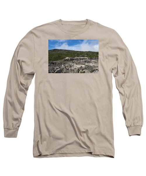 Glendasan Abandoned Mining Site Village Long Sleeve T-Shirt