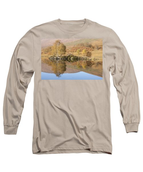Long Sleeve T-Shirt featuring the photograph Glengarry Reflection by Karen Van Der Zijden