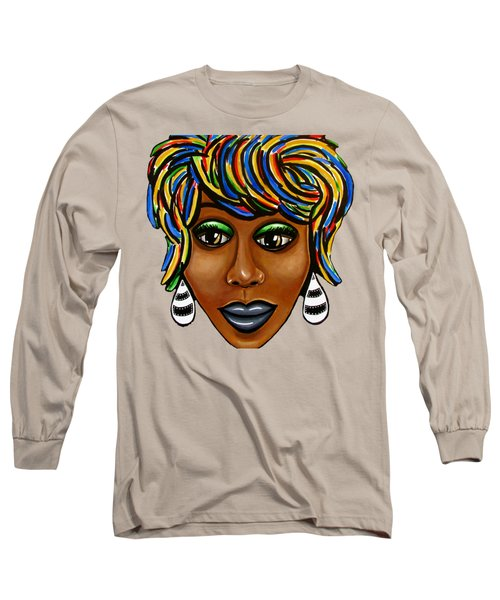 Glo Abstract Long Sleeve T-Shirt