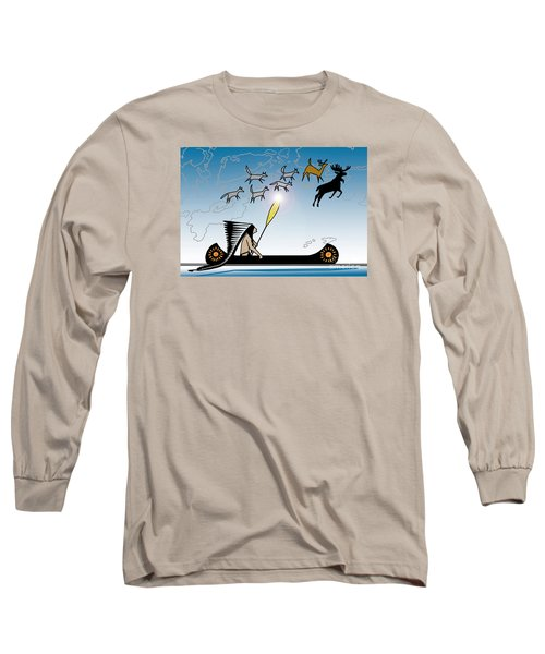 Glooscap Creates The West Isles Long Sleeve T-Shirt