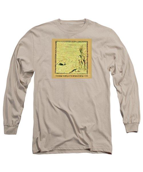 Glooscap Watching The Smoking Whale Long Sleeve T-Shirt