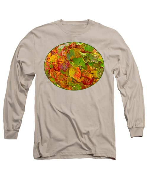 Glorious Autumn Leaves Long Sleeve T-Shirt