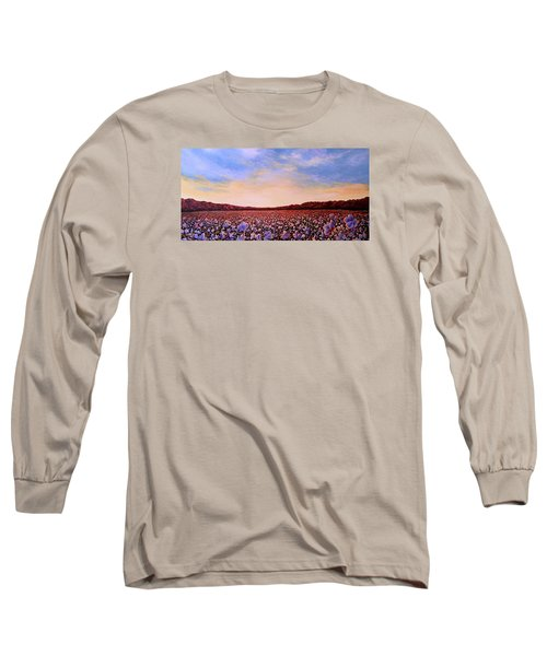 Glory Of Cotton Long Sleeve T-Shirt by Jeanette Jarmon