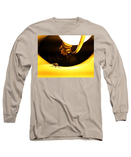 Long Sleeve T-Shirt featuring the photograph Glow Fly by Robert Knight