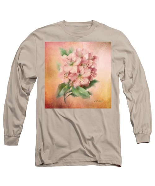 Glowing Incantation Long Sleeve T-Shirt by Colleen Taylor