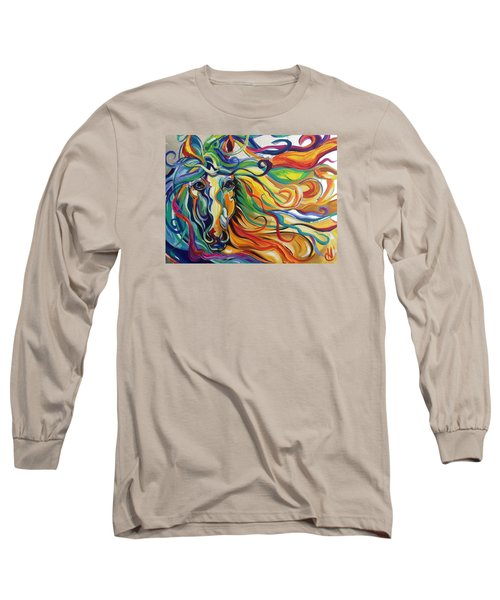 Glyde  Long Sleeve T-Shirt by Heather Roddy