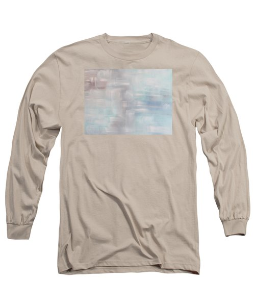 Gobi Desert Gale And Oasis Long Sleeve T-Shirt by Min Zou