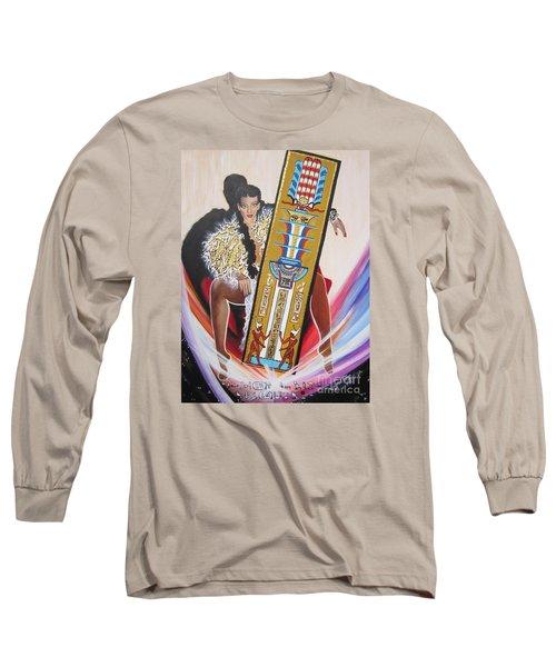 The  Tet Of Osiris Fra Blaa  Kattproduksjoner  Long Sleeve T-Shirt