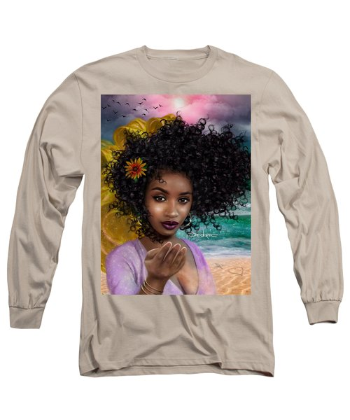 Goddess Oshun Long Sleeve T-Shirt
