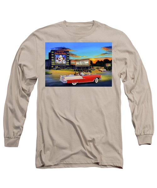 Goin' Steady - The Circle Drive-in Theatre Long Sleeve T-Shirt