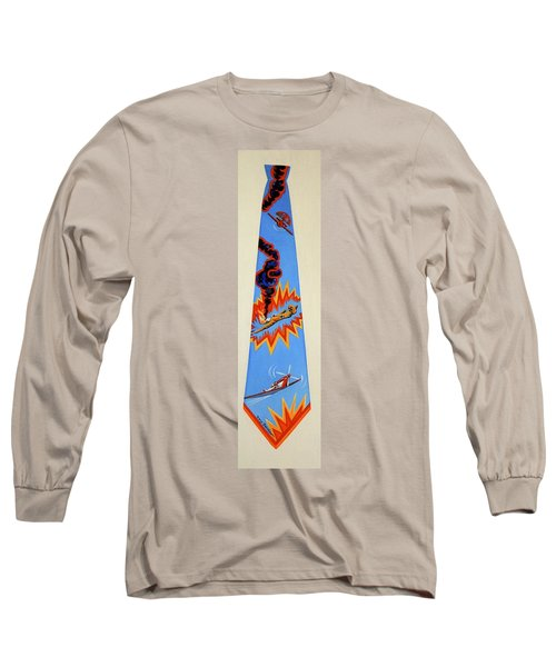 Going Down Long Sleeve T-Shirt by Tracy Dennison