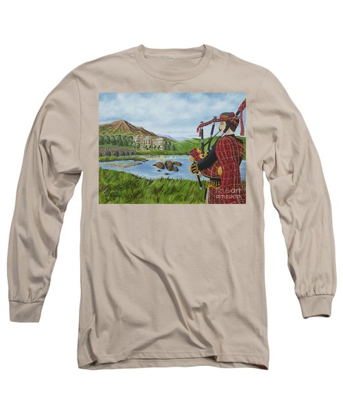 Long Sleeve T-Shirt featuring the photograph Going Home by Val Miller