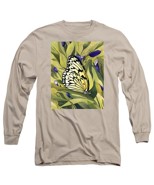 Gold Butterfly In Branson Long Sleeve T-Shirt