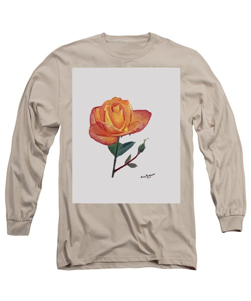 Gold Medal Rose Long Sleeve T-Shirt