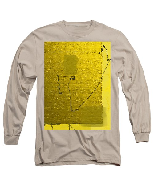 Gold Parchment Long Sleeve T-Shirt