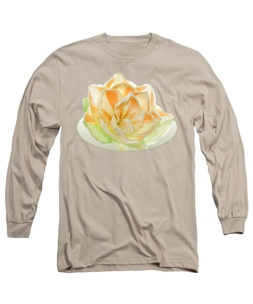 Golden Amaryllis Long Sleeve T-Shirt