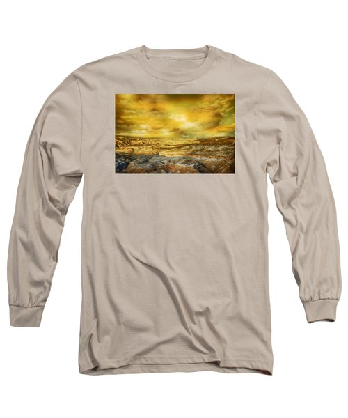 Golden Colors Of Desert Long Sleeve T-Shirt