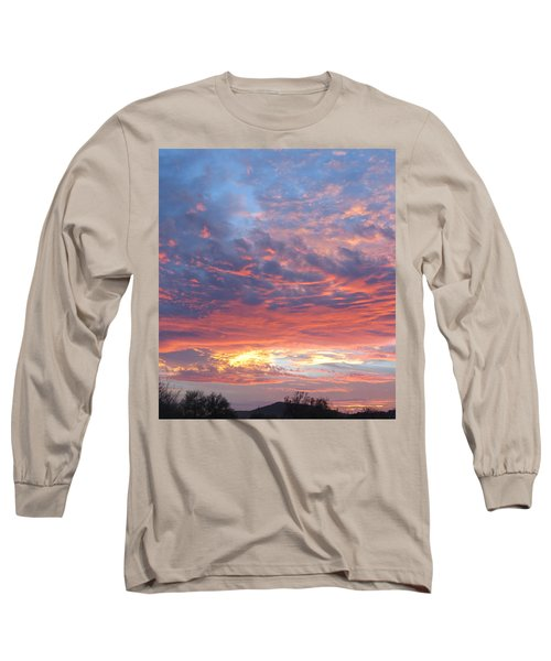 Golden Eye Landing In The Desert Long Sleeve T-Shirt