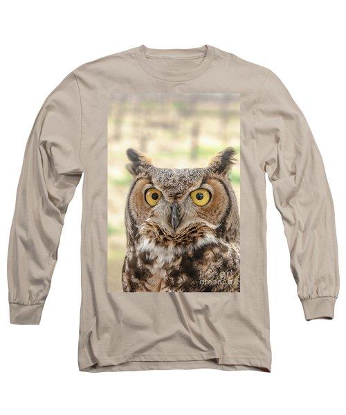 Golden Eyes Long Sleeve T-Shirt