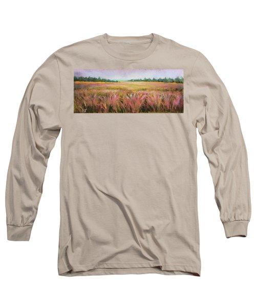 Golden Field Long Sleeve T-Shirt