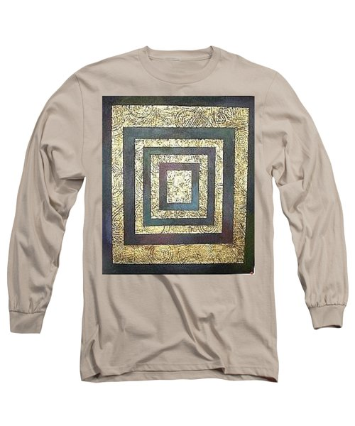 Golden Fortress Long Sleeve T-Shirt by Bernard Goodman