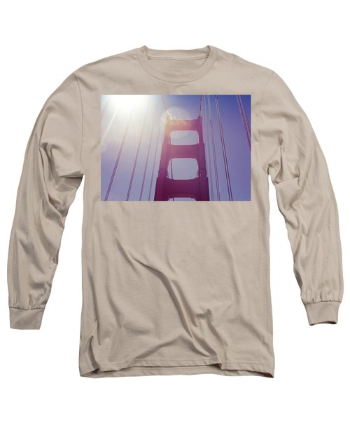 Golden Gate Bridge The Iconic Landmark Of San Francisco Long Sleeve T-Shirt