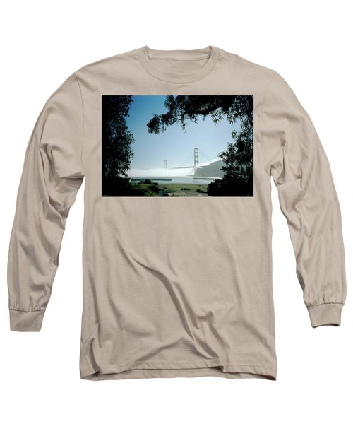 Golden Gate Fog  Long Sleeve T-Shirt