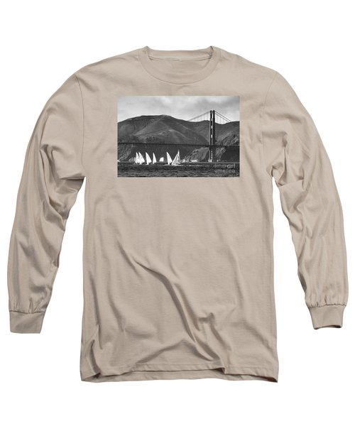 Golden Gate Seascape Long Sleeve T-Shirt
