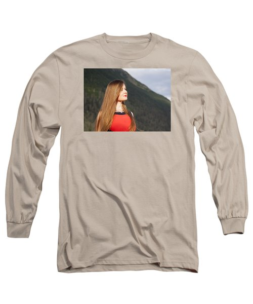 Golden Hair Long Sleeve T-Shirt