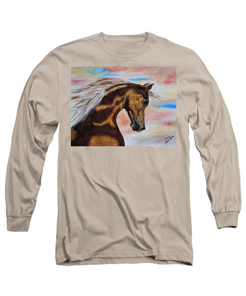 Golden Horse Long Sleeve T-Shirt