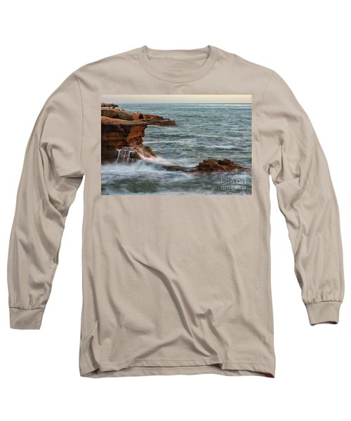 Golden Hour At Sunset Cliffs Long Sleeve T-Shirt