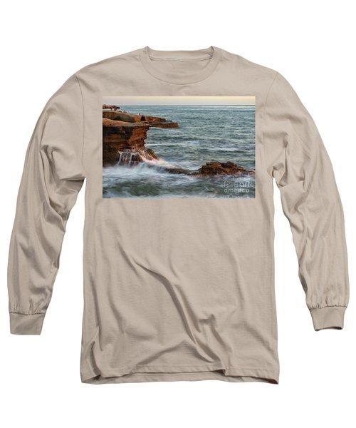 Golden Hour At Sunset Cliffs Long Sleeve T-Shirt