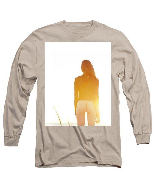 Golden Hour Girl Long Sleeve T-Shirt