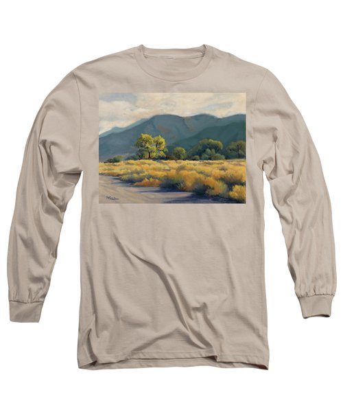 Golden Hour In Owen's Valley Long Sleeve T-Shirt