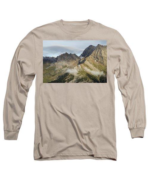 Golden Light Above Gavarnie Long Sleeve T-Shirt