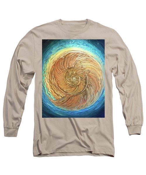 Golden Nautilus Long Sleeve T-Shirt