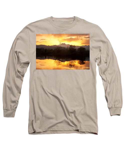 Golden Ponds Longmont Colorado Long Sleeve T-Shirt