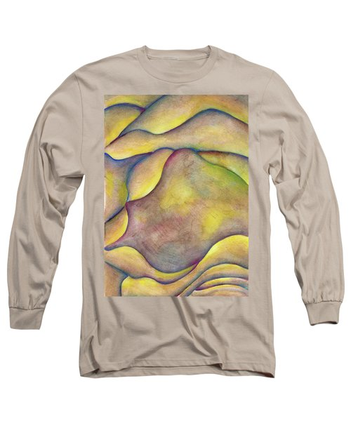 Golden Rose Long Sleeve T-Shirt by Versel Reid